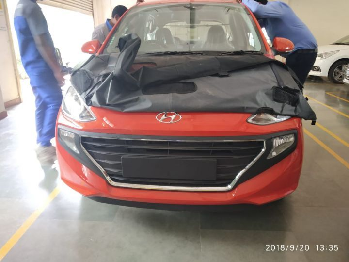 All New Hyundai Santro Spotted Ahead of Official Debut 2