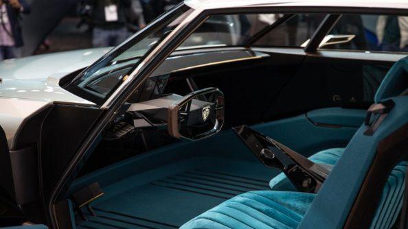 Retro-Styled Peugeot E-Legend Debuts at Paris Motor Show 14