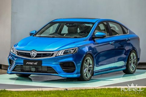 Next Gen Proton Preve to be Based on Geely BinRui 11