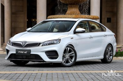 Next Gen Proton Preve to be Based on Geely BinRui 8