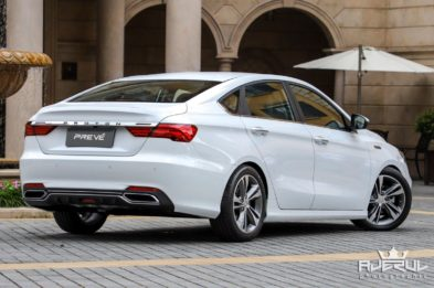 Next Gen Proton Preve to be Based on Geely BinRui 9