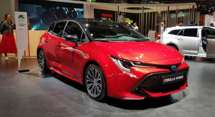 Toyota Corolla Hybrid Unveiled at 2018 Paris Motors Show 2