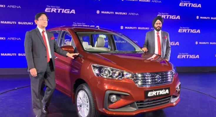 Maruti Launches the All New Suzuki Ertiga Priced From INR 7.44 lac 1