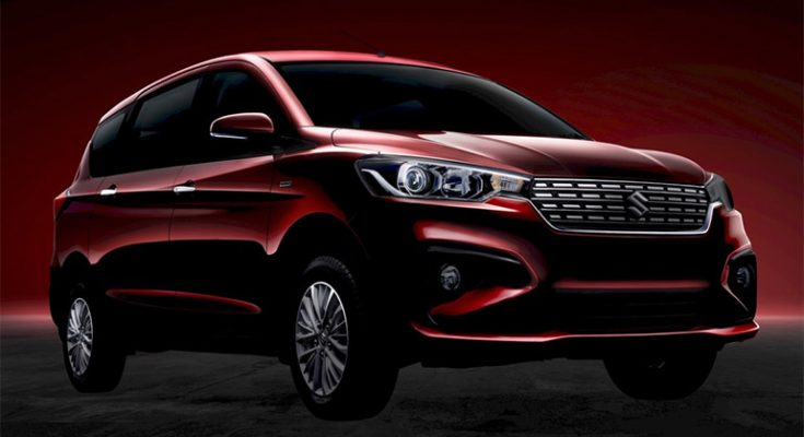 Maruti Set to Launch the New Suzuki Ertiga in India 1