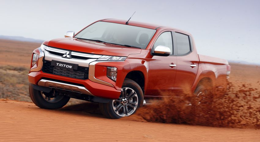 2019 Mitsubishi Triton Facelift Launched 3
