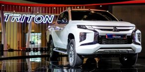 New Mitsubishi Triton Showcased at KLIMS 2018 5
