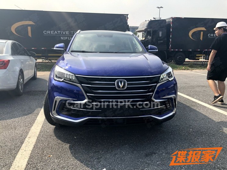 Changan Unveils the CS85 Coupe SUV at Guangzhou Auto Show 4
