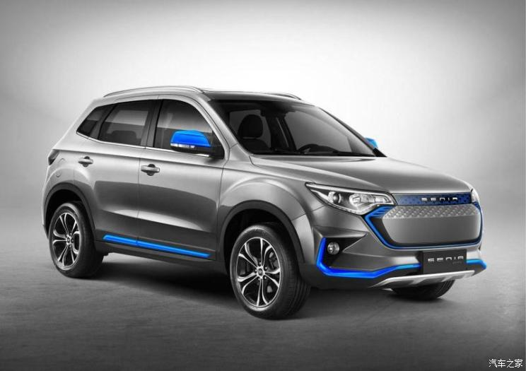 2019 FAW R7 EV400 Launched in China 30