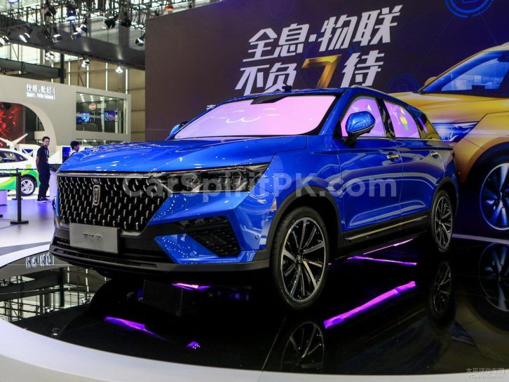 FAW's Flagship Bestune T77 SUV Launched 17