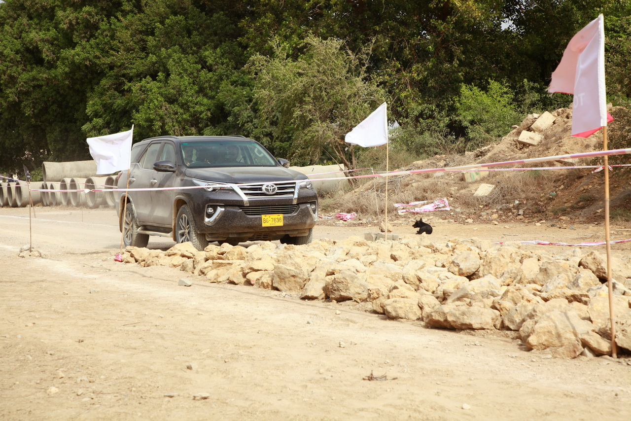 Toyota Fortuner Sigma 4 Off-Road Experience 2