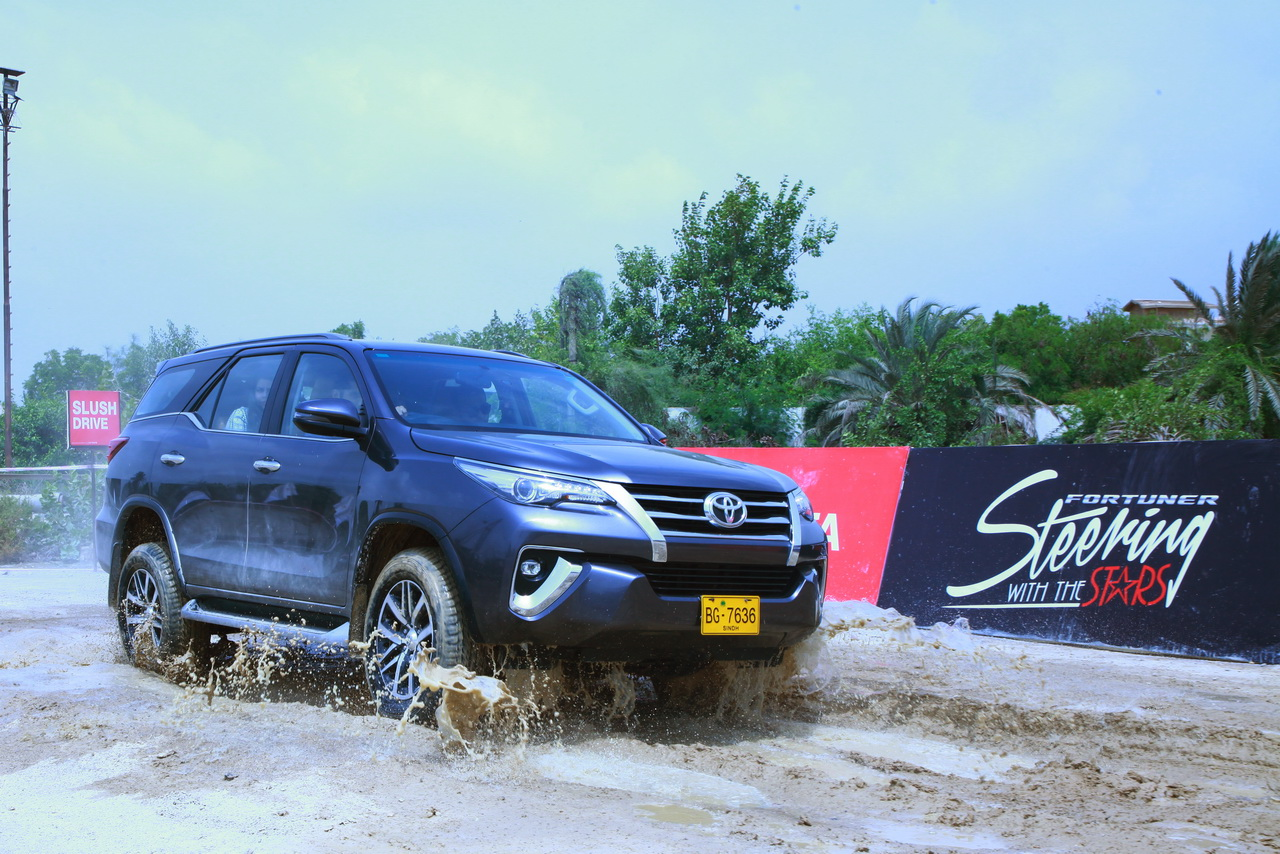 Toyota Fortuner Sigma 4 Off-Road Experience 1