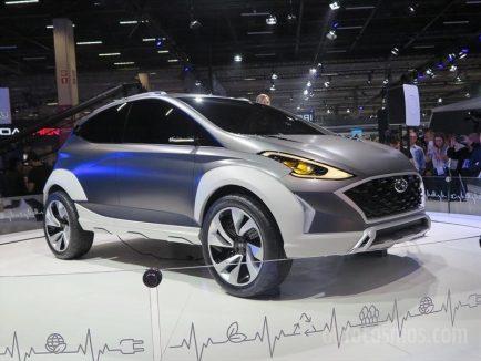 Hyundai Showcases New Saga EV Crossover Concept 7