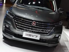 Hanteng Unveils the V7 MPV at 2018 Guangzhou Auto Show 16
