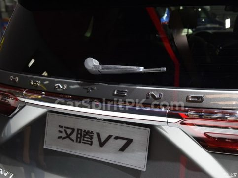 Hanteng Unveils the V7 MPV at 2018 Guangzhou Auto Show 19