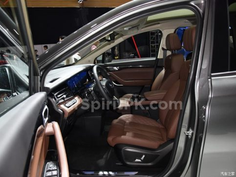 Hanteng Unveils the V7 MPV at 2018 Guangzhou Auto Show 23