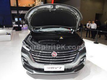 Hanteng Unveils the V7 MPV at 2018 Guangzhou Auto Show 6