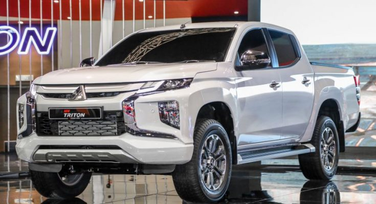 New Mitsubishi Triton Showcased at KLIMS 2018 1