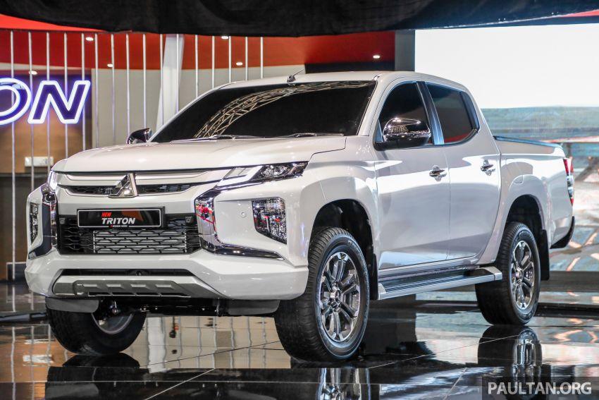 New Mitsubishi Triton Showcased at KLIMS 2018 1
