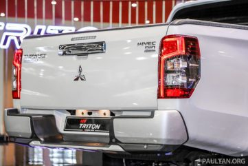 New Mitsubishi Triton Showcased at KLIMS 2018 8