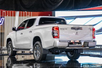 New Mitsubishi Triton Showcased at KLIMS 2018 7