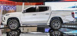 New Mitsubishi Triton Showcased at KLIMS 2018 6