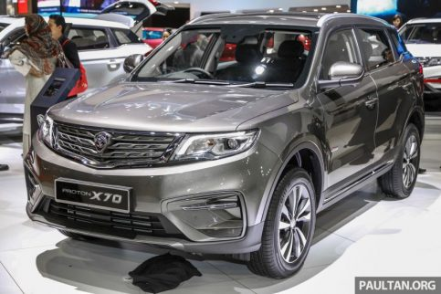 Proton X70 Showcased at KLIMS 2018 4