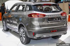 Proton X70 Showcased at KLIMS 2018 5