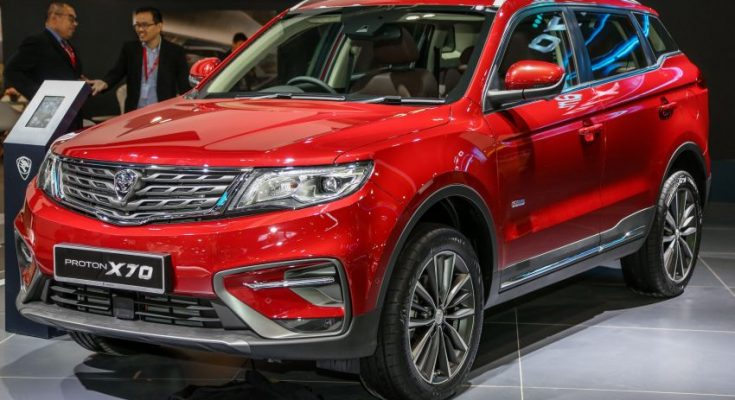 Proton X70 Showcased at KLIMS 2018 1