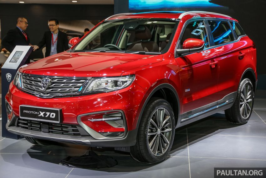 Proton X70 Showcased at KLIMS 2018 12