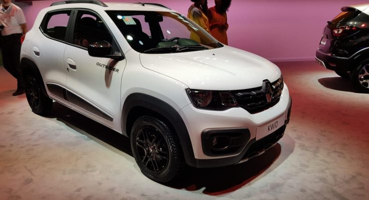 Renault Showcased the Kwid Outsider at 2018 Sao Paulo Motor Show 2