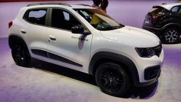 Renault Showcased the Kwid Outsider at 2018 Sao Paulo Motor Show 3