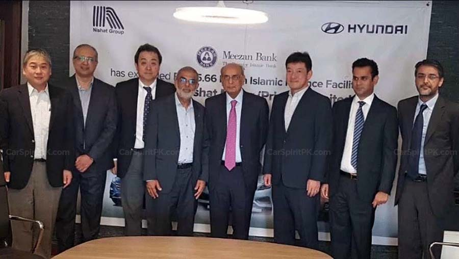 Meezan Bank Signs Agreement with Hyundai-Nishat 2