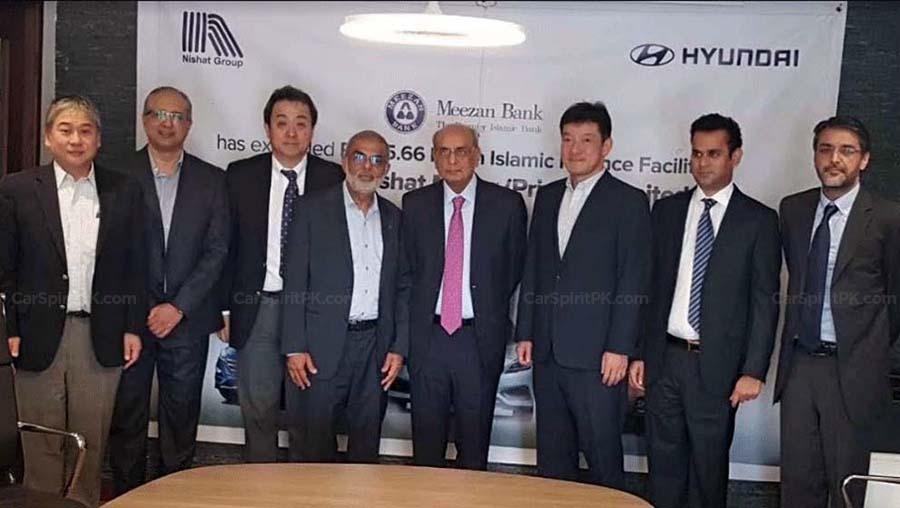 Meezan Bank Signs Agreement with Hyundai-Nishat 1