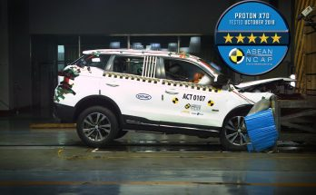 Proton X70 gets 5 stars in ASEAN NCAP Crash Test 8