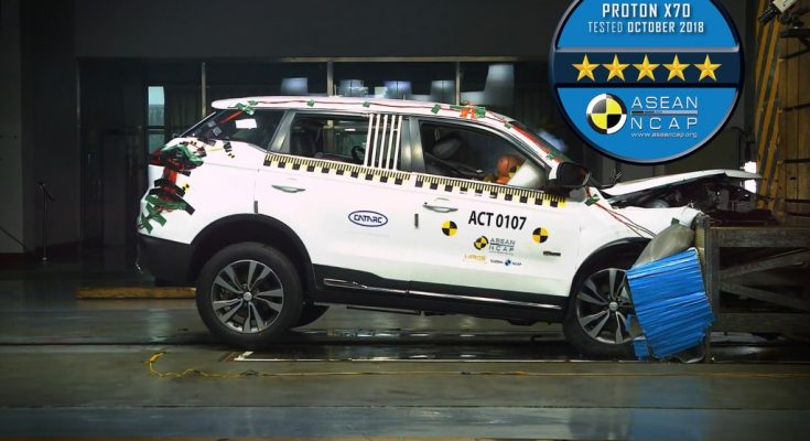 Proton X70 gets 5 stars in ASEAN NCAP Crash Test 1