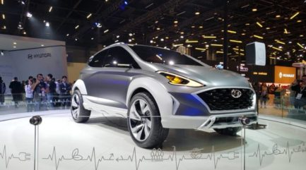 Hyundai Showcases New Saga EV Crossover Concept 2