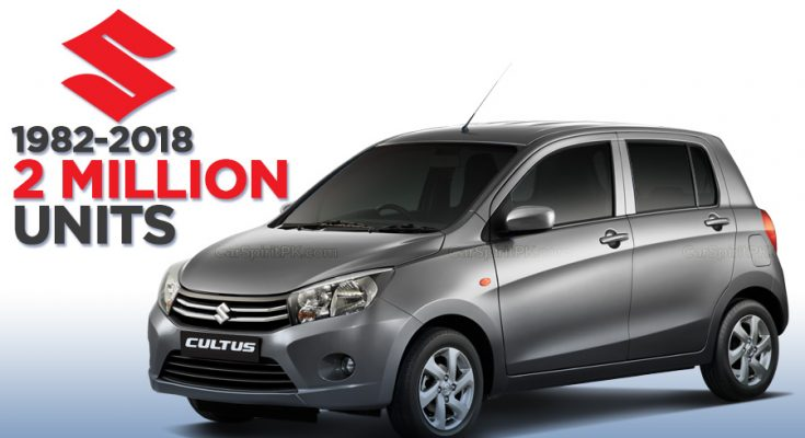 Pak Suzuki Achieves 2 Million Units Production Milestone in Pakistan 1
