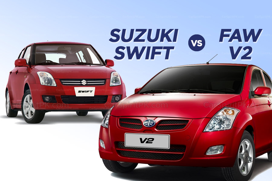 Which One to Buy: Suzuki Swift or FAW V2 1
