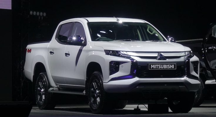 2019 Mitsubishi Triton Facelift Launched 1