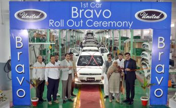 First Local Assembled United Bravo Rolls Off the Assembly Lines 2
