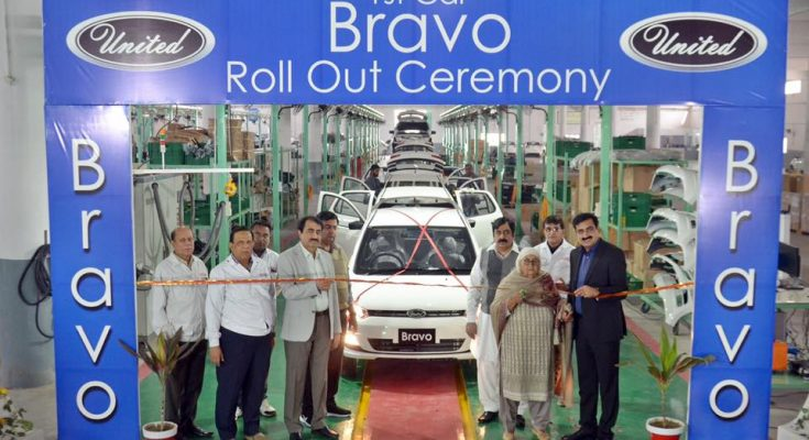 First Local Assembled United Bravo Rolls Off the Assembly Lines 1