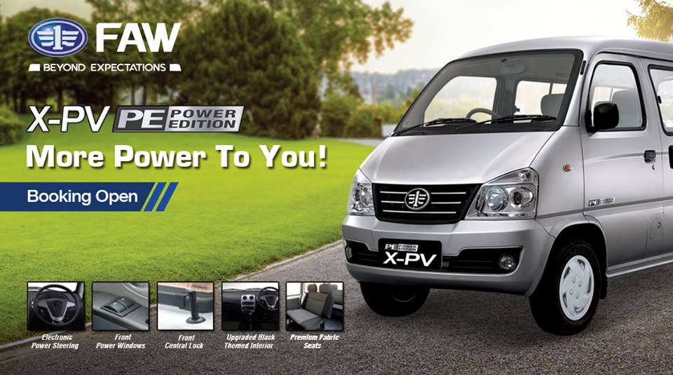 FAW X-PV Power Edition Launched- Booking Open 6