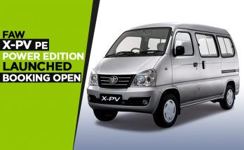 FAW X-PV Power Edition Launched- Booking Open 10