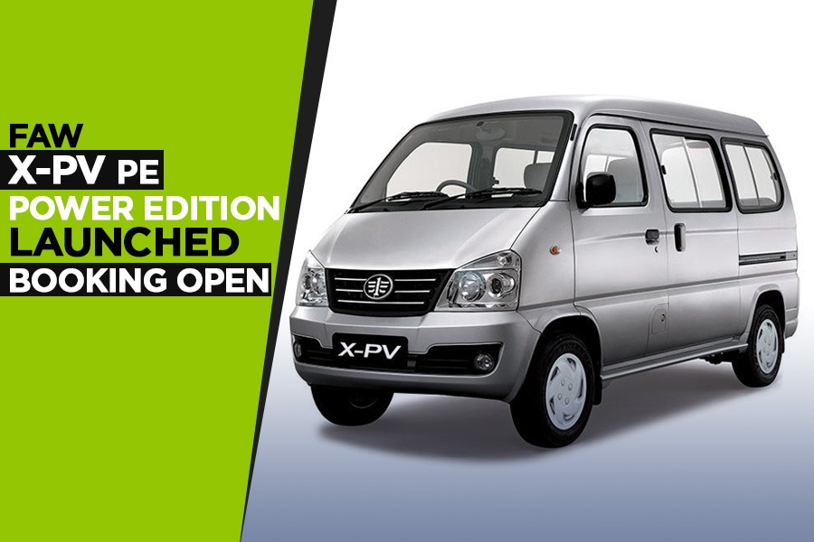 FAW X-PV Power Edition Launched- Booking Open 1