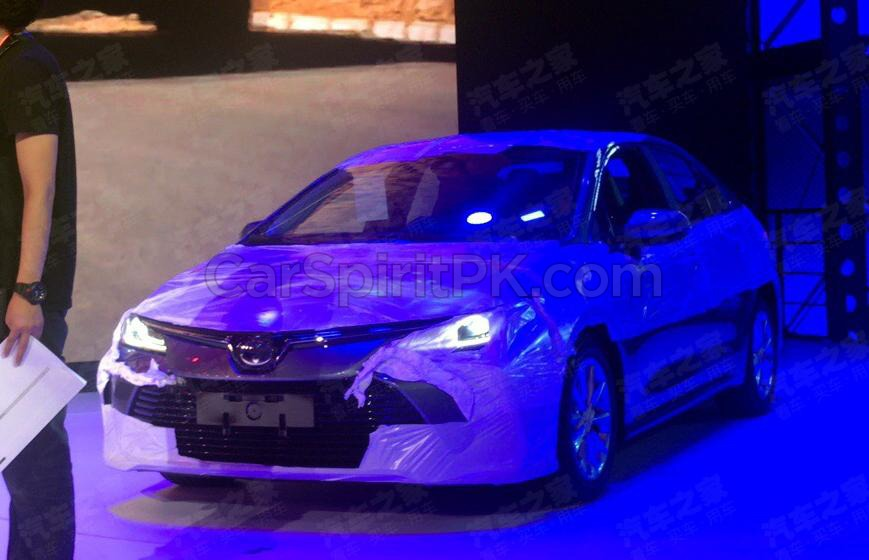 All New Toyota Corolla Altis Leaked Ahead of Debut 2