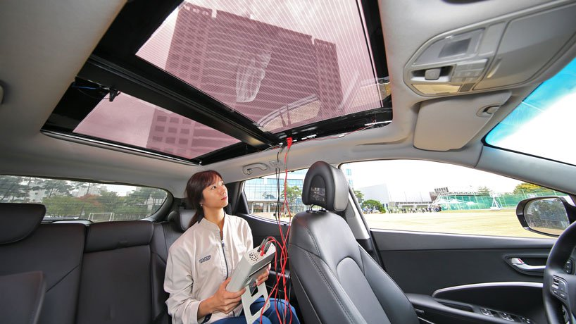 Hyundai and Kia Unveil Solar Roof Charging Technology 4