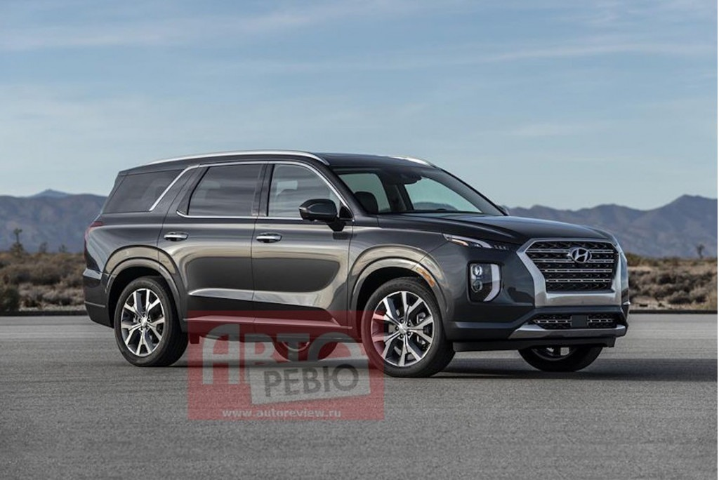 Hyundai's Flagship Palisade SUV Leaked Ahead of Debut 2