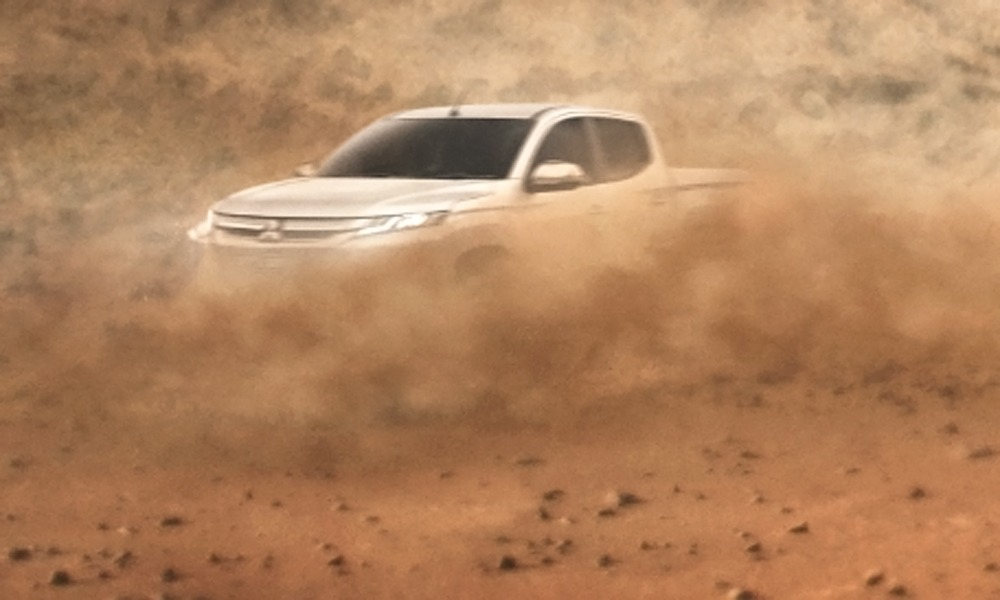Mitsubishi Teases the 2019 Triton, to Debut on 9th November 1