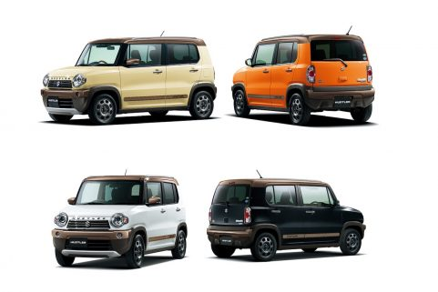 Suzuki Hustler Wanderer Special Edition Launched in Japan 4