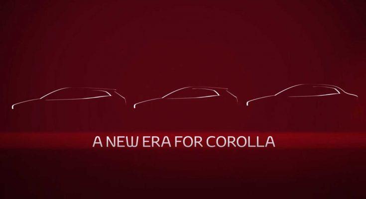 Next Gen Toyota Corolla Altis Teased Ahead of Debut 1